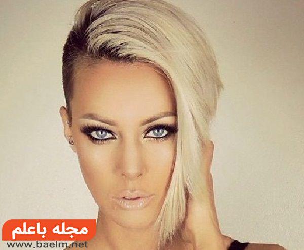 مدل رنگ مو,مدل کوتاه مو جدید برای دختر,مدل فشن مو,مدل مو 97,مدل مو