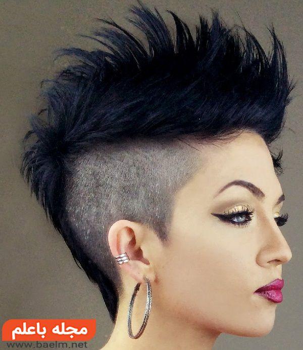 مدل مو کوتاه زنانه مجلسی جدید