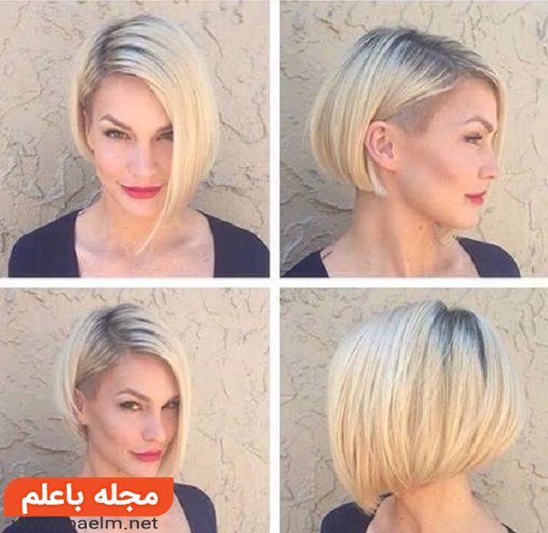 موی کوتاه فشن دخترانه,مدل موی کوتاه دخترانه فشن,مدل مو,مدل موی کوتاه 2018