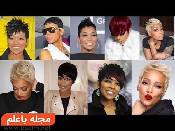 انواع مدل مو کوتاه زنانه,جدیدترین مدل های موی کوتاه زنانه و دخترانه بسیار شیک و زیبا