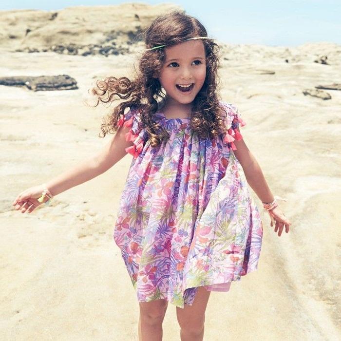 مدل های شیک لباس بچه گانه,لباس های بچه گانه راحتی نخی, جدیدترین لباس های دخترانه