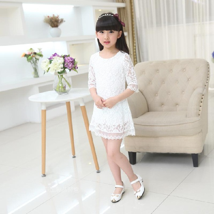 مدل لباس گیپوری بچه گانه,مدل لباس گیپور بچه گانه دخترانه شیک,بلوز بلند مجلسی گیپور