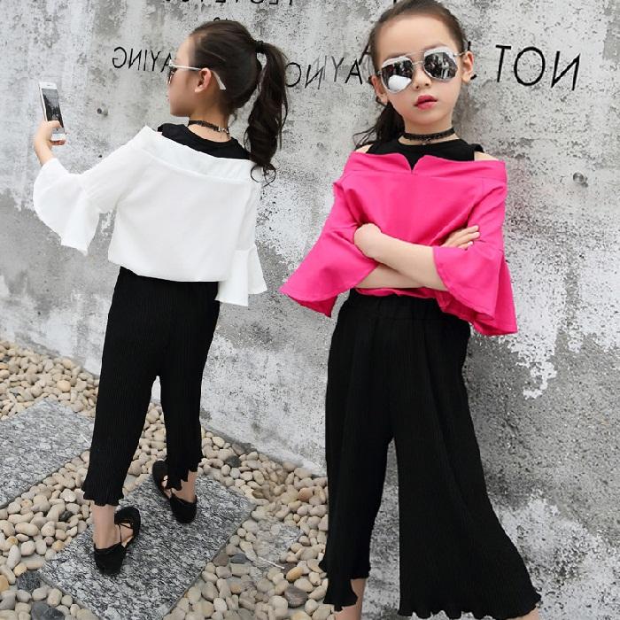 جدید ترین مدل لباس مجلسی بچه گانه دخترانهمدل بلوز و شلوار دخترانه سفید و صورتی