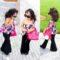 مدل لباس بچگانهدخترانه جدید|مجلسی,ست بلوز شلوار جین,ست تاپ دامن,ست راحتی
