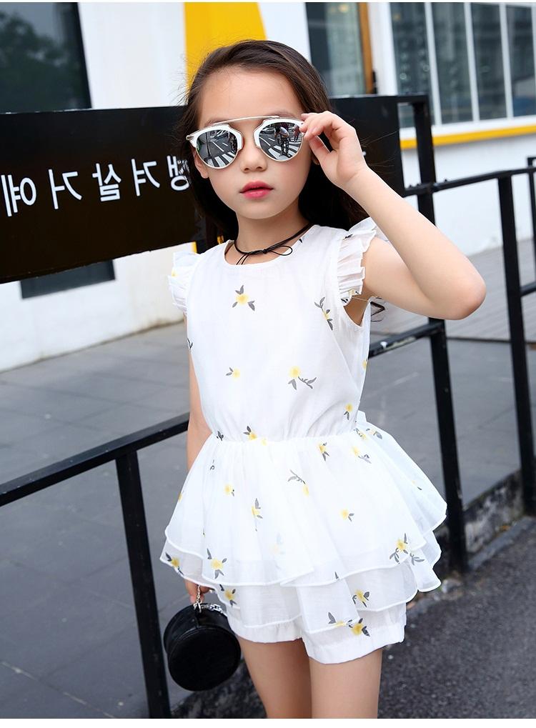 مدل لباس مجلسی شیک و جدید بچه گانه دخترانه,لباس راحتی تابستانه دخترانه سفید