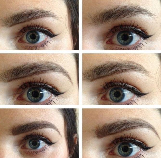 مدل ساده ابرو دخترانه,آرایش چشم,خط چشم ساده و زیبا,مدل آرایش ابرو شیک