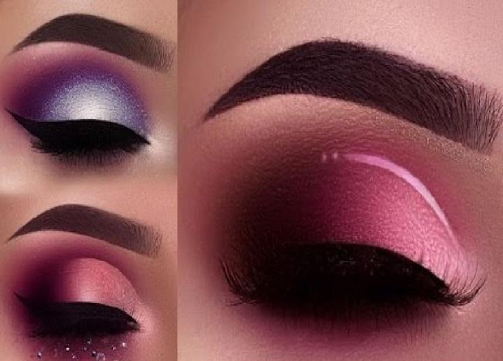انواع مدل ابرو پهن و نازک,مدل ابرو اسپرت کوتاه و بلند,آرایش چشم مجلسی,مدل سایه چشم زنانه