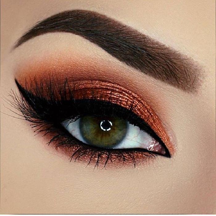 آرایش چشم و ابرو,آرایش مجلسی 2018,ارایش چشم,آرایش چشم جدید 97,مدل ابرو تاتو پهن