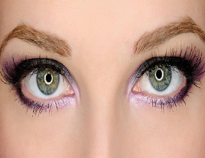 جدیدترین مدل آرایش ابرو و مدل آرایش چشم,سایه چشم مدل سایه هایلایت شیک