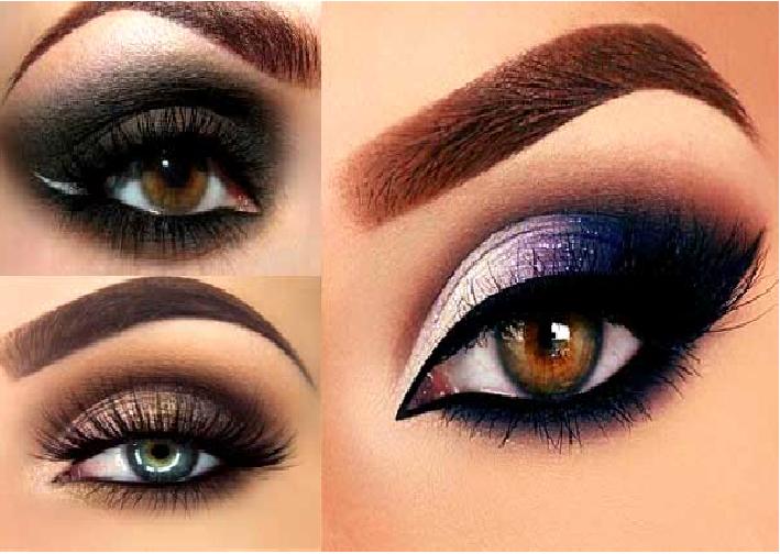 مدل های ارایش عروس ایرانی,مدل سایه چشم,مدل ابرو اسپرت دخترانه و زنانه جدید و شیک