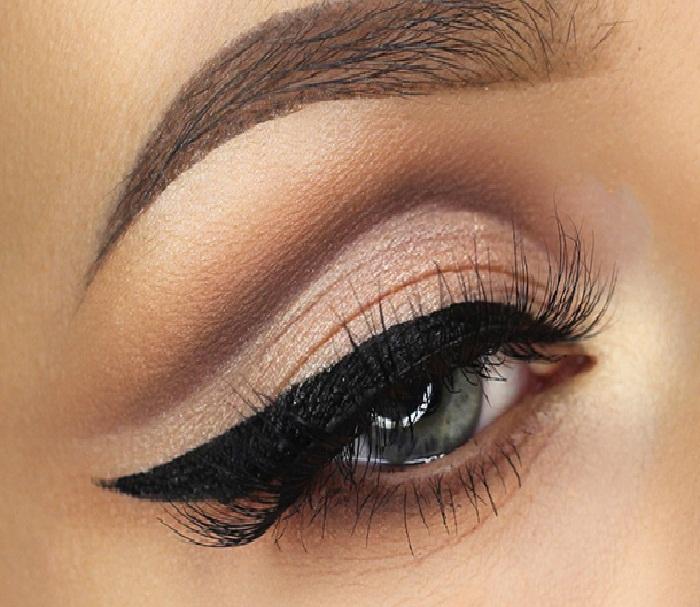 مدل ابرو شمشیری,آرایش چشم زنانه,مدل آرایش خط چشم دخترانه,مدل ابروی نازک