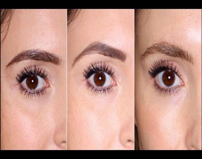 مدل تمیز کردن ابرو,مدل ساده ابرو,مدل سایه چشم عروس,مدل آرایش چشم ملایم