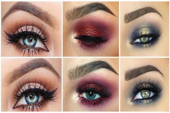 مدل ابروی دخترانه97,جدیدترین مدل های آرایش چشم و سایه چشم مجلسی زنانه