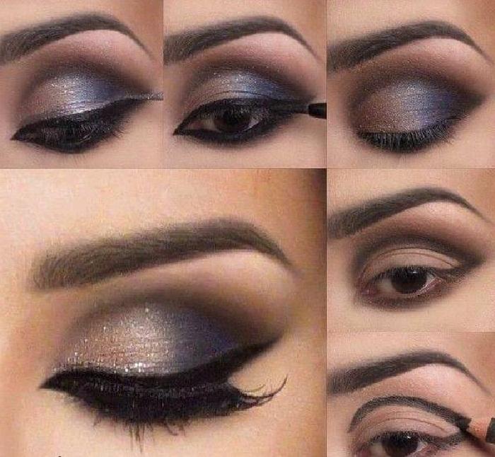 مدل ابرو دخترونه جدید زیبا و مد روز,ارایش چشم و ابرو 2018,مدل سایه چشم,مدل آرایش چشم