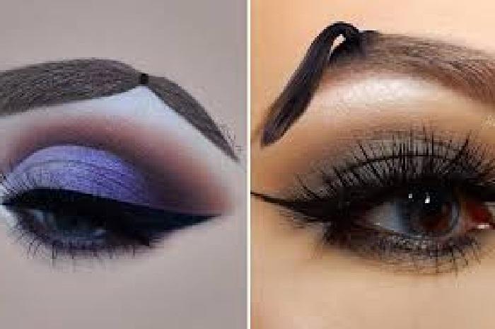 مدل ابرو دخترانه جدید و زیبا,مدل ابرو نازک دخترانه,مدل آرایش چشم,مدل ارایش فانتزی