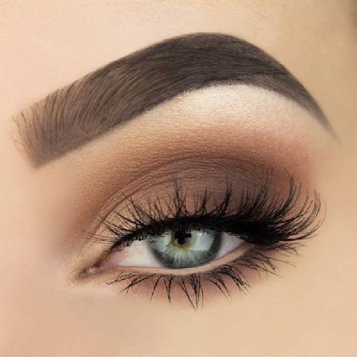 عکس مدل ابرو,جدیدترین مدل ابرو,آرایش چشم مجلسی,مدل سایه قهوه ای چشم