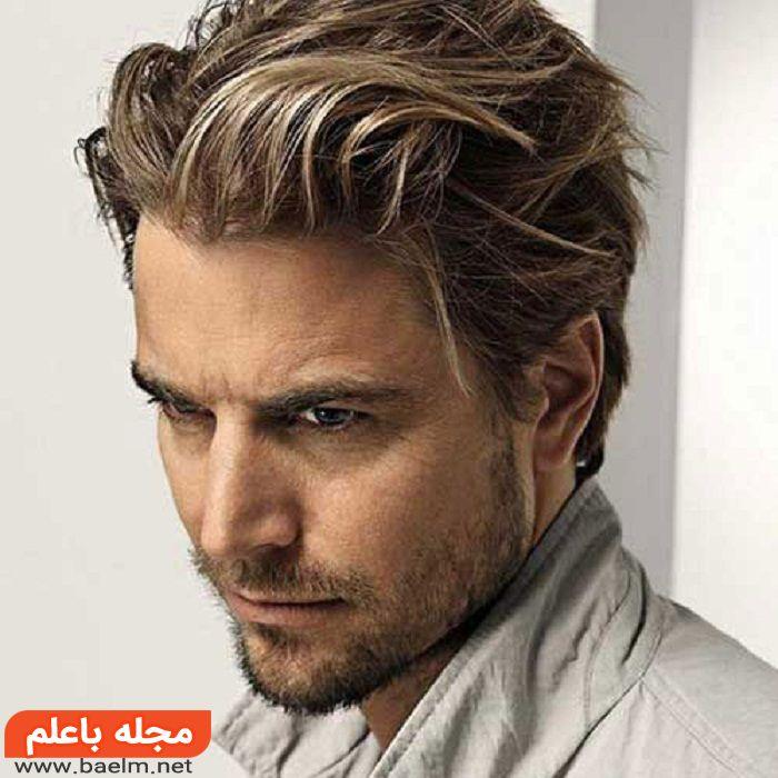 مدل مو کوتاه و ساده مردانه 97,گالری عکس مدل مو کوتاه مردانه جذاب,مدل موی خامه ای جدید