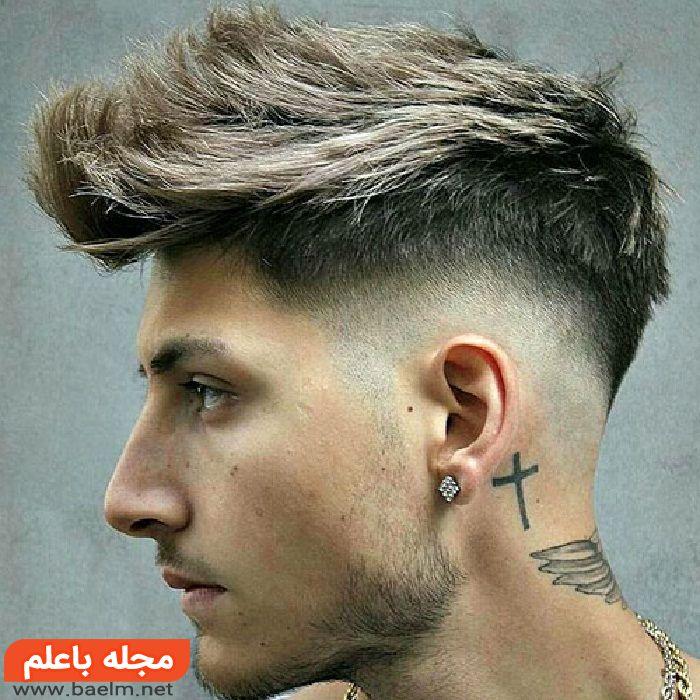 موی خامه ای مردانه,مدل مو خامه ای بلند و کوتاه پسرانه و مردانه شیک 2018