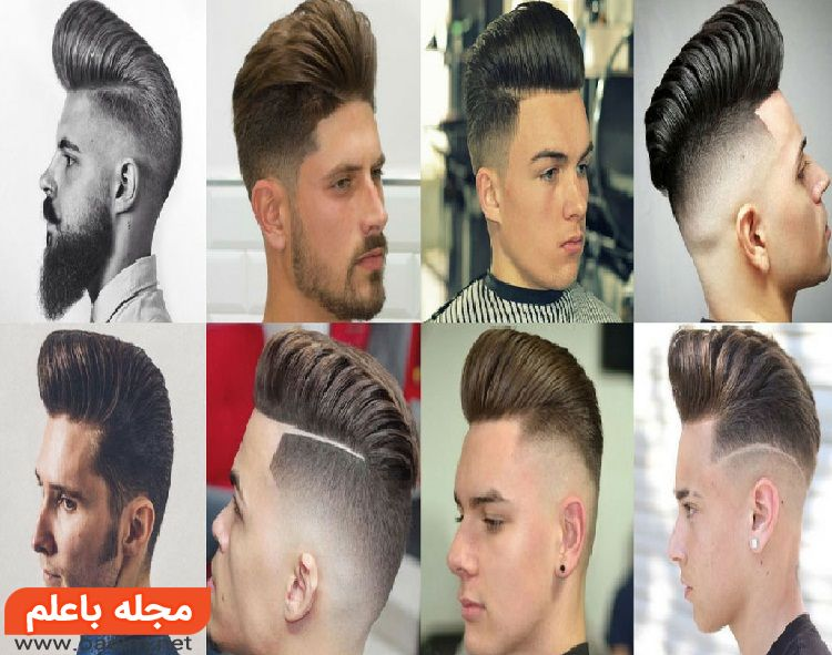 عکس و ژورنال مدل مو خامه ای مردانه کوتاه و بلند,انواع مدل های جدید و جذاب موی خامه ای