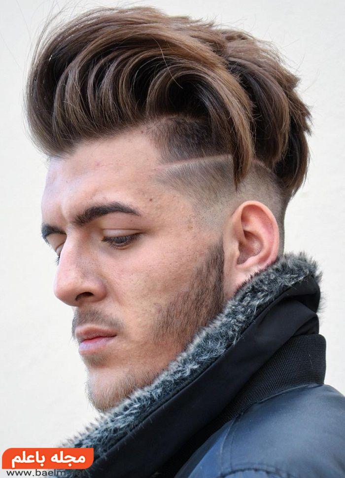 انواع مدل مو ساده و کلاسیک فشن,ژورنال مدل مو کچل و فر کوتاه پسرانه مردانه 2018