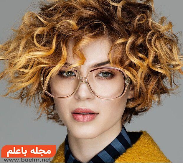 مدل موی فر دخترانه جدید و فوق العاده زیبا با انواع فرهای درشت و ریز برای موهای کوتاه و بلند