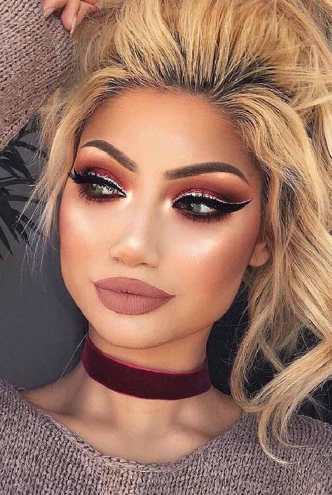 آرایش زیبا و جذاب,آرایش زیبا و طبیعی برای دختران,آرایش زیبای عروس,آرایش و میکاپ جدید صورت