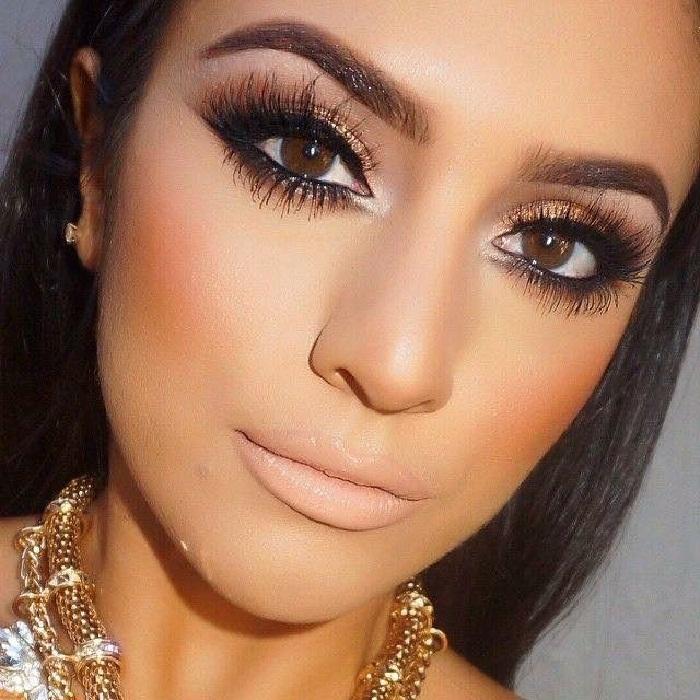 مدل آرایش جدید و غلیظ چشم,آرایش لایت دخترانه شیک,آرایش عروس اروپایی,آرایش ساده صورت
