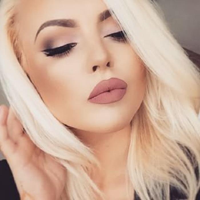 مدل آرایش جدید صورت,مدلهای جدید آرایش لایت,مدل آرایش صورت عروس,مدل آرایش
