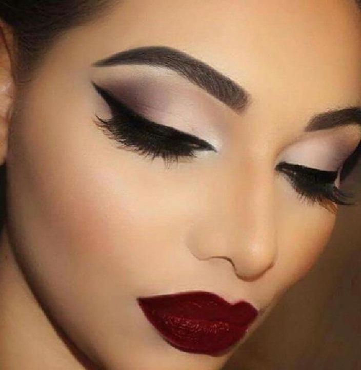 جدیدترین میکاپ عروس,مدل آرایش صورت,عکس مدل آرایش صورت و لب,رژ لب زیبا