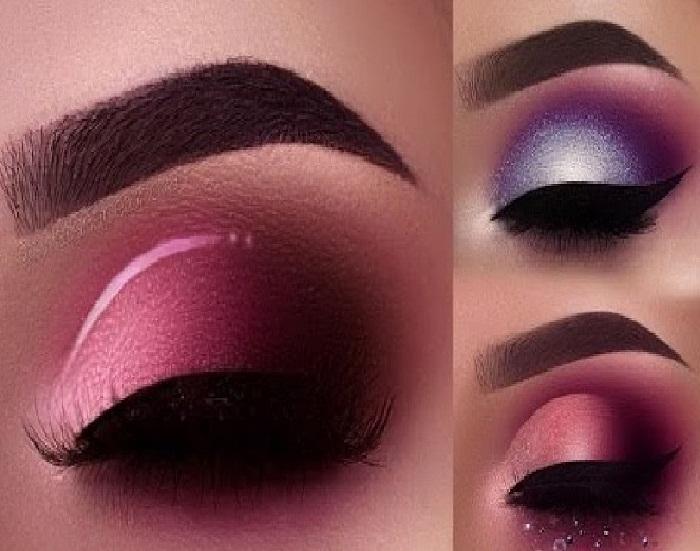 مدل آرایش جذاب,میکاپ صورت و مدل آرایش خلیجی,مدل آرایش جدید چشم و مدل جدید ابرو