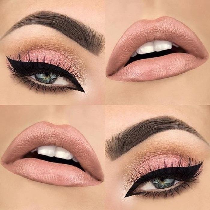 مدل آرایش عروس,جدیدترین مدل های آرایش چشم,جذابترین مدل میکاپ صورت ایرانی و اروپایی