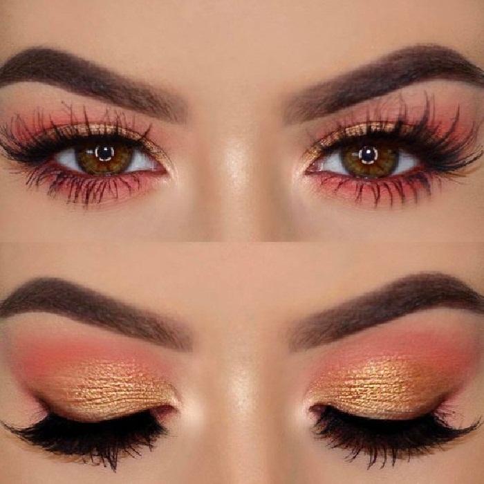 مدل آرایش چشم و ابرو,عکس مدل آرایش چشم عروس,جدیدترین مدل آرایش چشم و ابرو 2018