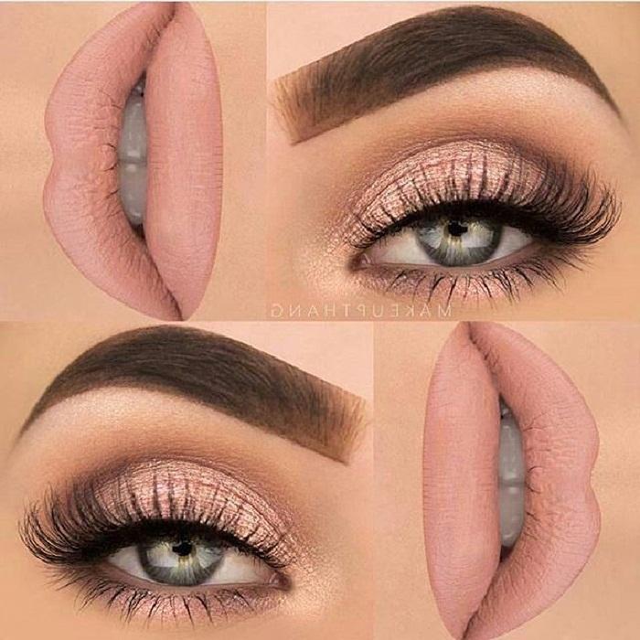 مدل آرایش چشم و ابرو,عکس مدل آرایش چشم عروس,آرایش صورت,آرایش چشم,آرایش لب