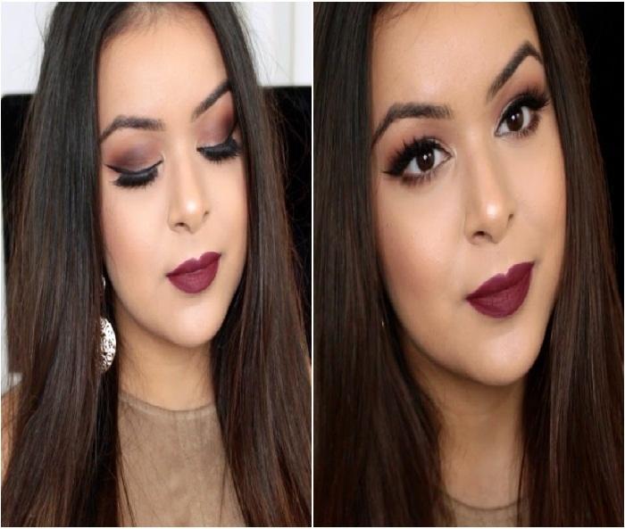 مدل های ارایش عروس ایرانی,آرایش و میکاپ صورت,آرایش چشم,آرایش لب,آرایش مو 2018