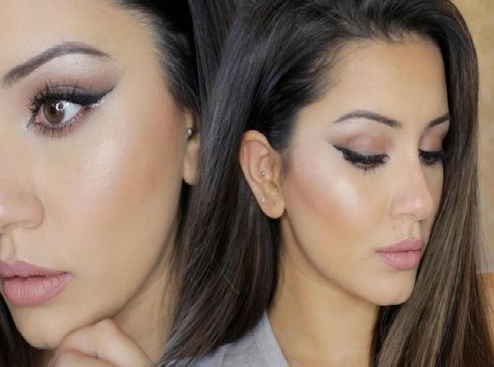 جدیدترین مدل آرایش صورت ملایم دخترانه,میکاپ ملایم و آرایش ساده چشم,آرایش ساده عروس