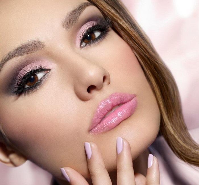 آرایش لایت دخترانه,رنگ مو,مدل ارایش محو اروپایی,مدل آرایش صورت عروس,عکس آرایش عروس ایرانی