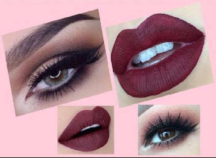 آرایش چشم و لب,آرایش چشم عروس,ارایش چشم و ابرو ساده,آرایش لب