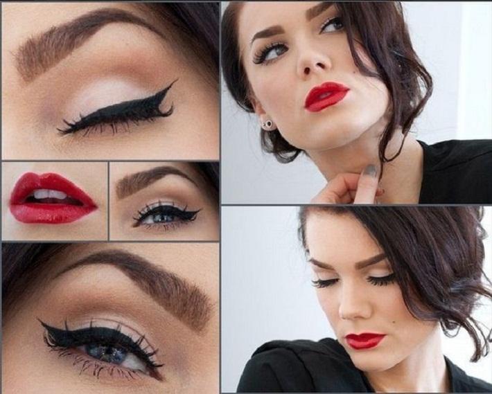 مدل آرایش دخترانه و مدل ارایش زنانه شیک,عروس ایرانی 2018,مدل آرایش چشم عروس ایرانی