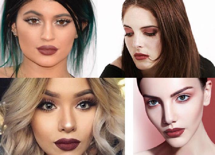 آرایش صورت,انواع مدل ارایش صورت,آرایش صورت ملایم و غلیظ,ارایش صورت ومو,مدل ابرو 2018