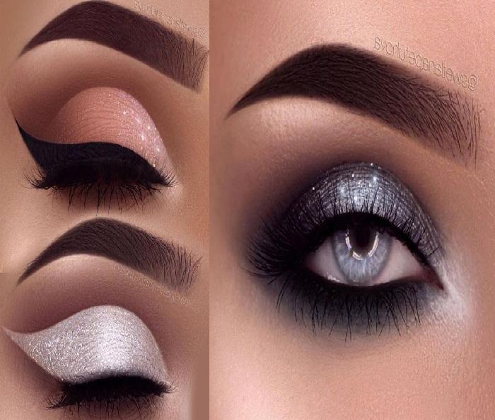 آرایش چشم زنانه,مدل آرایش خط چشم دخترانه,مدل سایه چشم,مدل آرایش جذاب چشم
