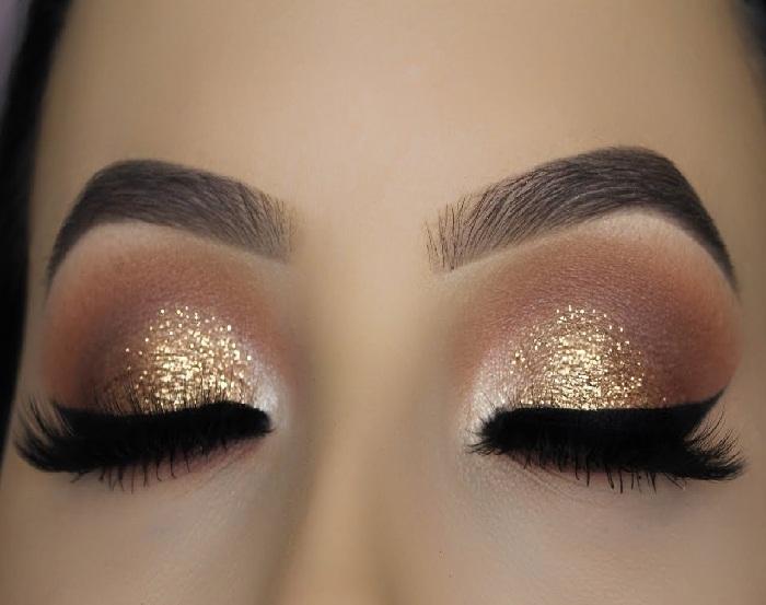 جدید ترین مدل آرایش چشم دخترانه,میکاپ صورت و مدل خط چشم و سایه چشم,آرایش شیک صورت