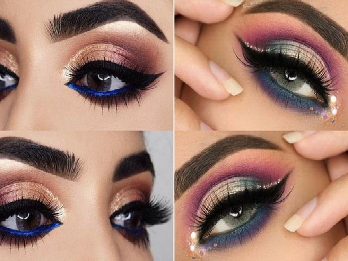 جدیدترین و جذاب ترین مدل آرایش چشم و ابرو,آرایش حرفه ای ابرو و چشم,آرایش غلیظ چشم