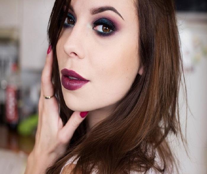 مدل آرایش صورت,جدیدترین میکاپ صورت,آرایش ملایم صورت,ارایش صورت,مدل ابرو و سایه چشم