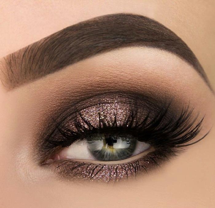 مدل آرایش چشم عروس,جدیدترین مدل های آرایش چشم و ابرو,جذابترین مدل های میکاپ عروس