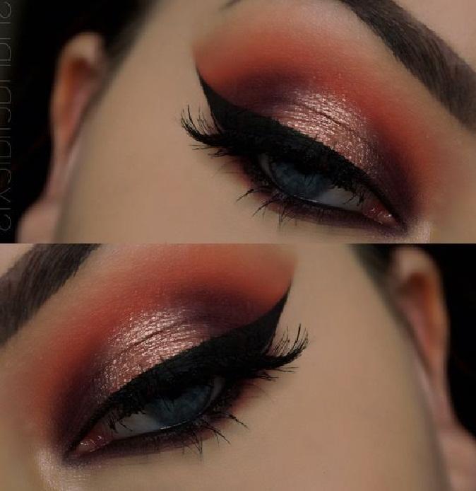 جدیدترین مدل میکاپ صورت و آرایش چشم و مدل ابرو,میکاپ صورت و آرایش زیبای چشم