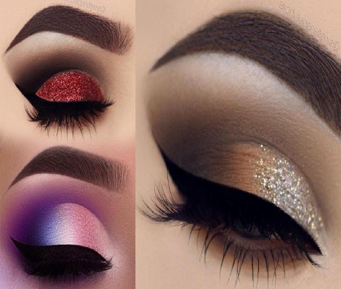مدل آرایش عروس ایرانی,مدل آرایش غلیظ ایرانی,آرایش صورت,آرایش چشم,سایه چشم زیبا