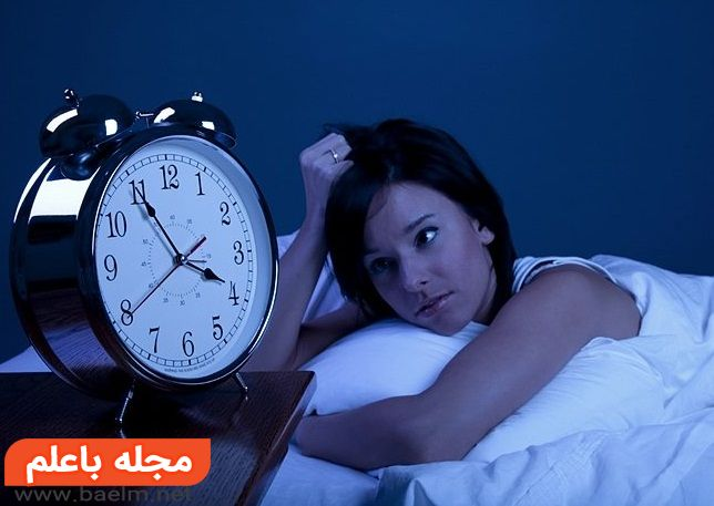 مشکل خوابیدن,بیدار شدن نصف شب,علت بی خوابی های شبانه,اختلالات خواب