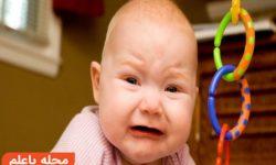 از خواب پریدن نوزاد | علت بیدار شدن و گریه های نوزاد در شب و جلوگیری از آن