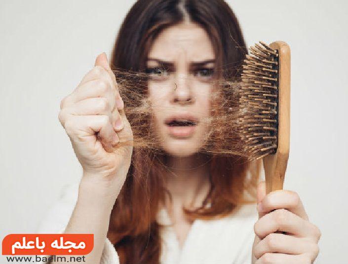 اصلی ترین علل ریزش مو هم در زنان و هم در مردان,شامپوی قطع ریزش مو