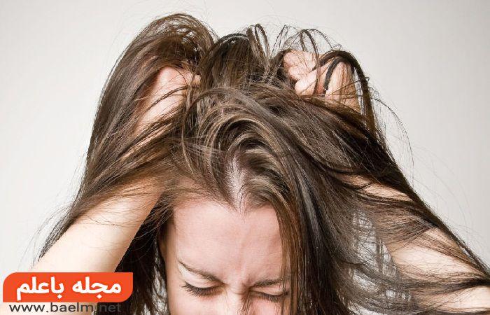 علت خارش پوست سر و بدن,درمان خانگی خارش سر,شامپو ضد خارش پوست سر